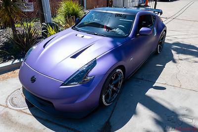 Matte Purple Metallic Vinyl Wrap | Avery Dennison SW900-565-M