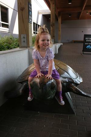 Sandy Knolls Aquarium in N.C.