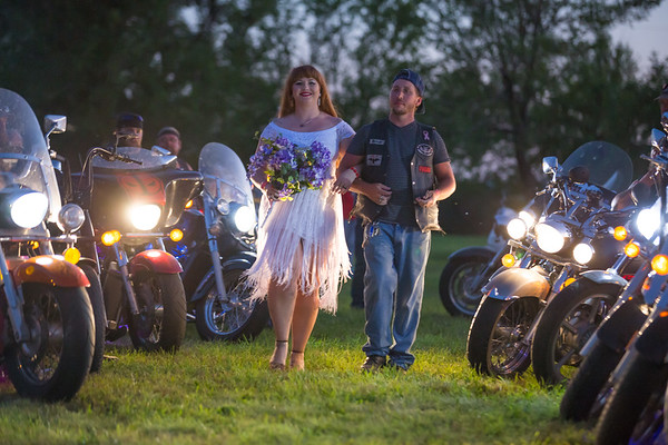 Brick and Fathom's Biker Wedding