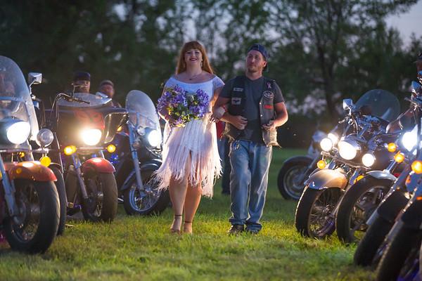 Brick and Fathom's Biker Wedding