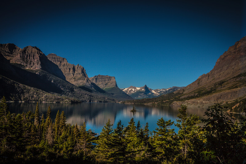 Glacier National Park, MT- St Mary's lake