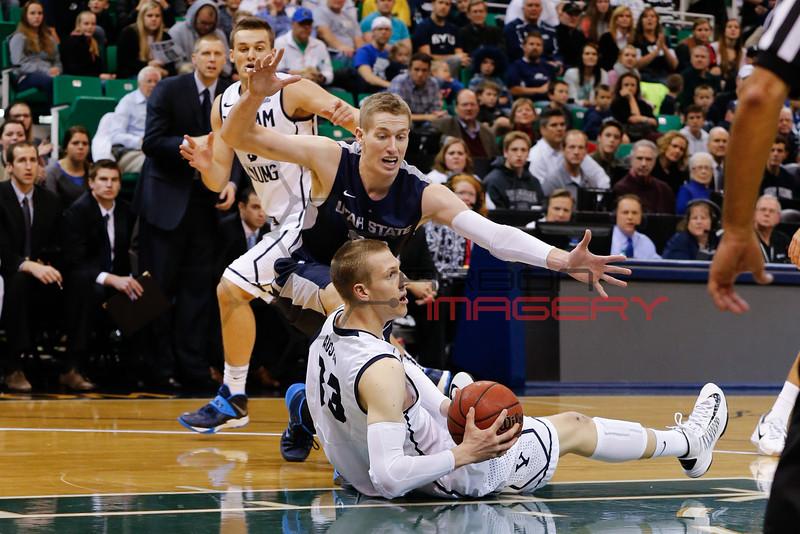 NCAABB: Utah State at Brigham Young
