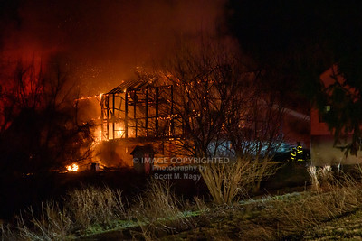03/24/19 North Whitehall Barn Fire