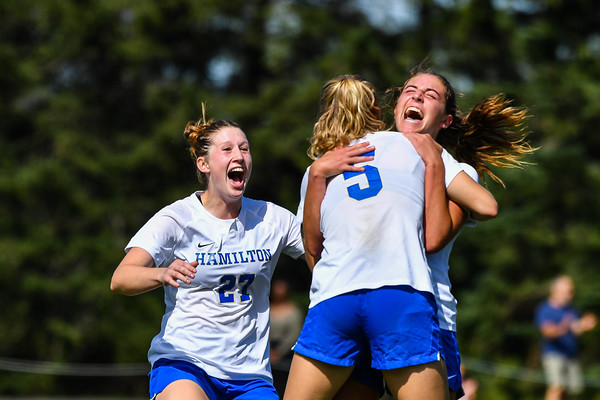 Hamilton Women's Soccer v Middlebury 9-25-21