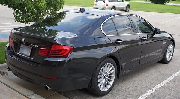 2013 BMW 535i Window Tint