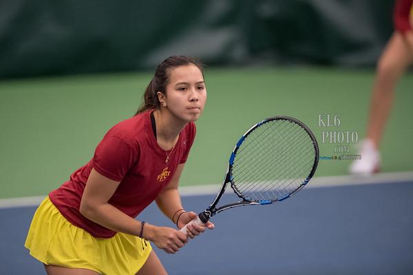 ISU Tennis vs Illinois State 02/12/17