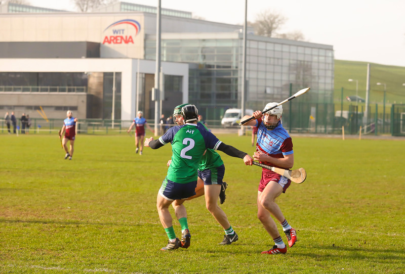 22/02/2019. Electric Ireland Ryan Cup Semi Final GMIT V Athlone IT. Picture: Patrick Browne