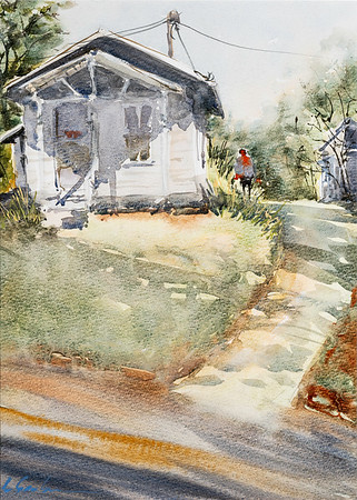 Watercolors by Liz Seaborn