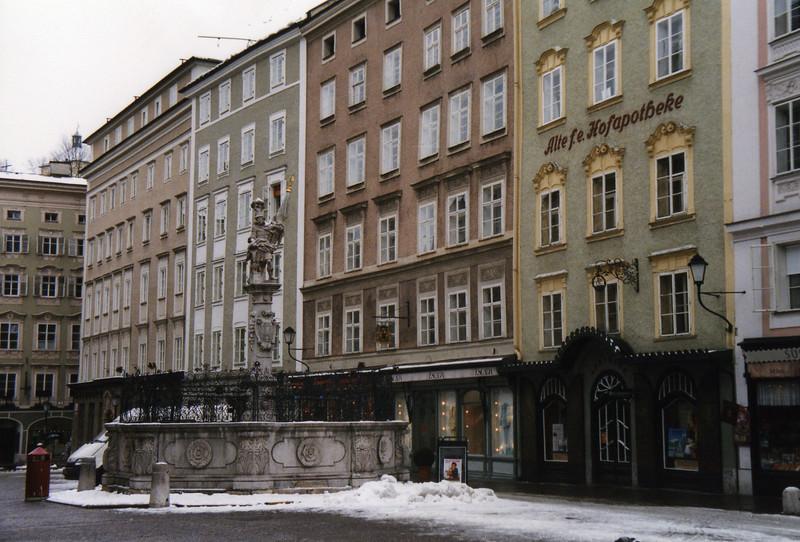The Alter Markt in Salzburg