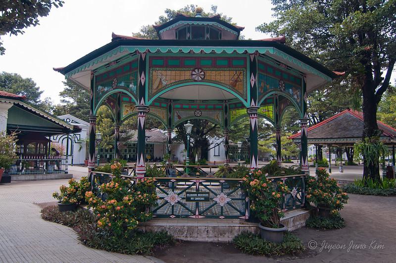 Pagoda at Sultan's Palace in Yogyakarta (Jogjakarta), Indonesia