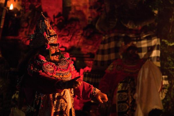 Fire Dance and Kecak Dance, Ubud, Bali 2013