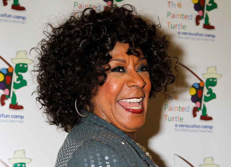 """. Gospel and soul singer Merry Clayton poses at \""""A Celebration of Carole King And Her Music\"""" concert to benefit Paul Newman\'s The Painted Turtle Camp in Hollywood December 4, 2012. Clayton performed at the concert. The Painted Turtle Camp provides year round camp and hospital outreach programs to children with chronic and life-threatening illnesses at no charge. REUTERS/Fred Prouser"""