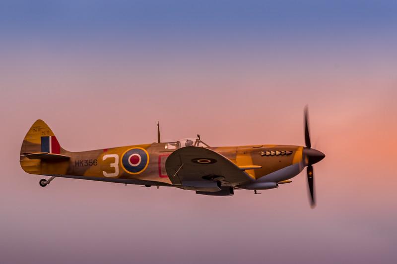 BBMF Spitfire Mk LF IXe MK356