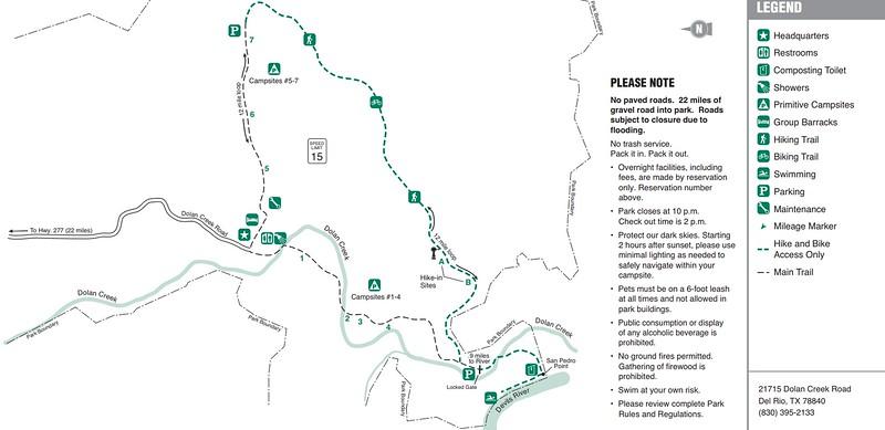 Devils River State Natural Area -- Del Norte Unit