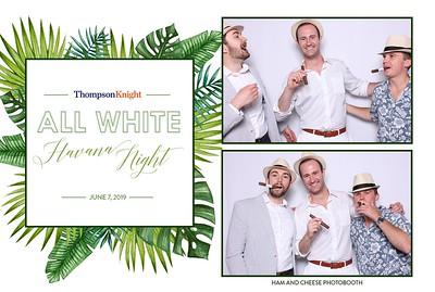 Thompson & Knight All White Havana Night