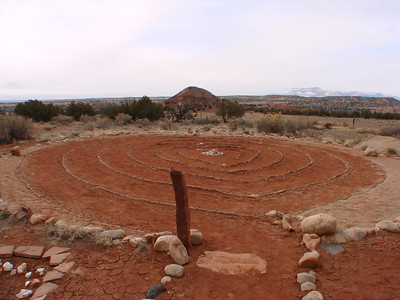 Ghost Ranch Heart Labyrinth 2012-03