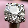 2.05ct Old European Cut Diamond Platinum Solitaire, GIA K SI1 10