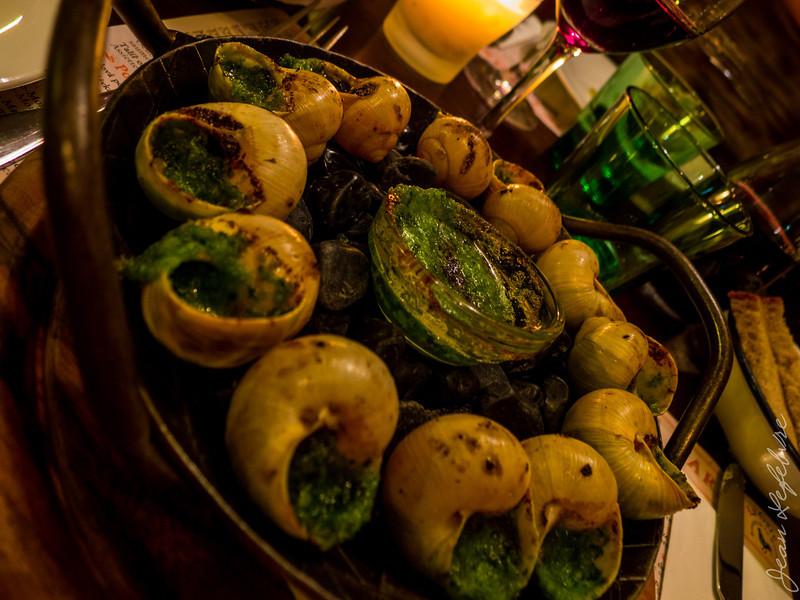 Snails = Dinner :)
