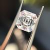 2.02ct Vintage Asscher Cut Diamond GIA E VVS2 27
