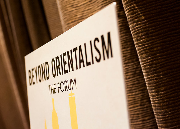Beyond Orientalism: The Forum