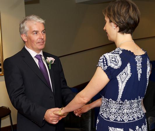 Andrew Violetta Civil ceremony