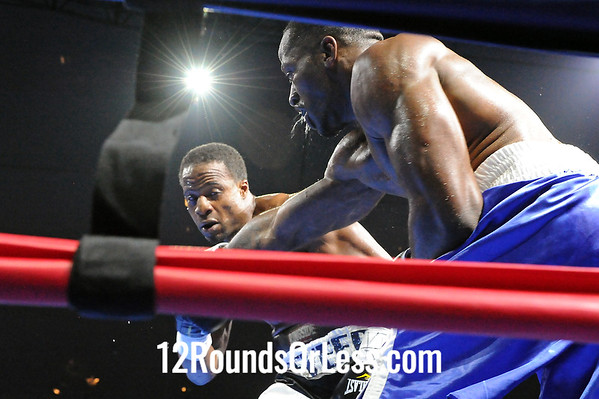 Bout 1Greg Brady, Buffalo, NY -vs- Travis Reeves, Baltimore, MD Cruiserwieghts