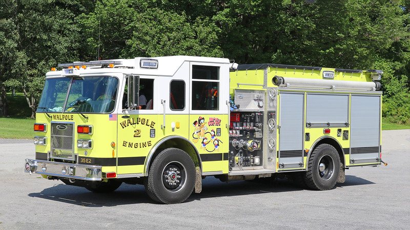 Engine 2.  2011 Pierce Saber.  1750 / 750