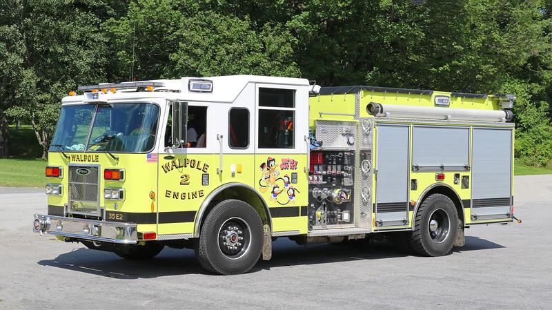Engine 2.  2011 Pierce Saber.  1750 / 750