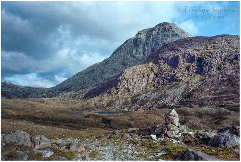 An Ruadh-stac from the north (scanned from a 1999 slide)