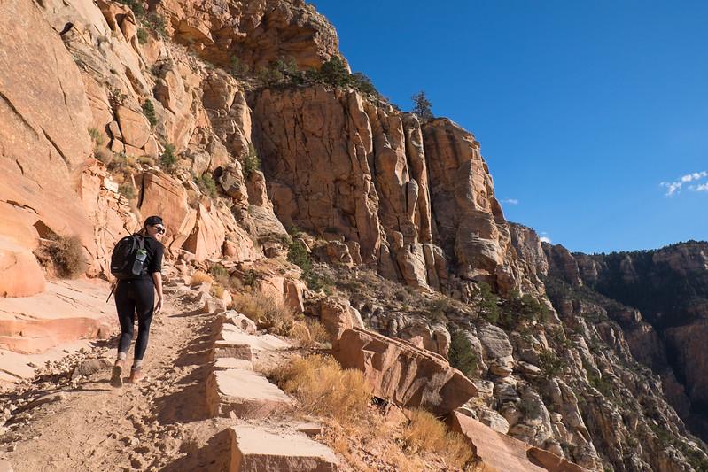 Lara croft traversing Utah