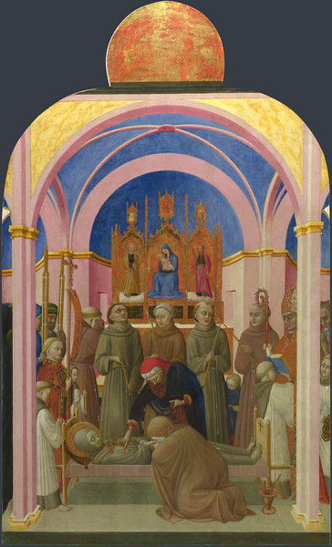 The Funeral of Saint Francis