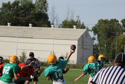 8th Grd vs Hilltoppers 9-7-17