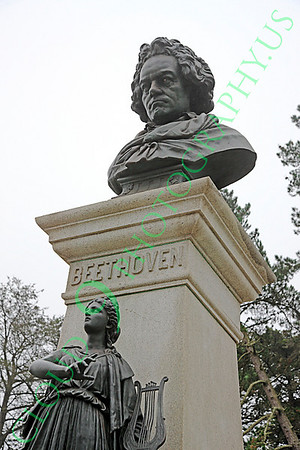 Ludwig van Beethoven Statuary Pictures [1770-1827]: German classical music composer