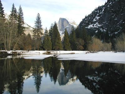 Yosemite Valley January 2004