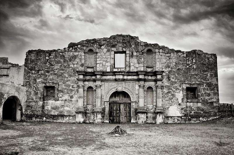 Alamo Movie Set