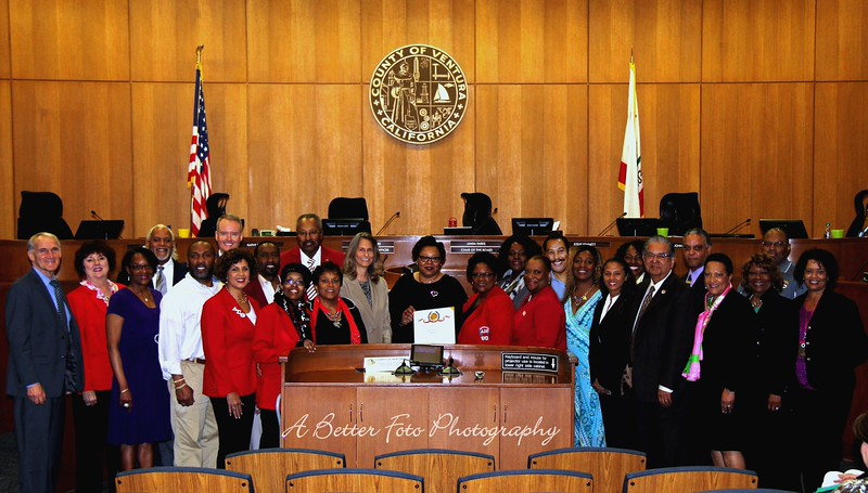 Ventura County Board of Supervisors/Black History Month