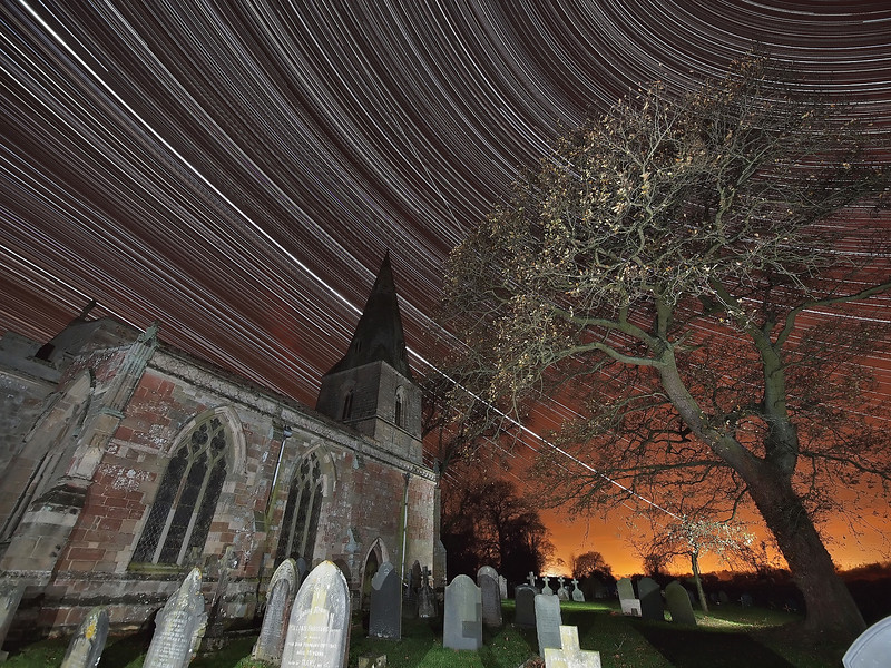 Graveyard Star Trail