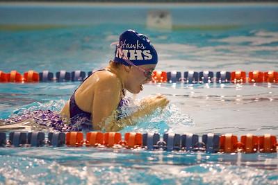 MHS Swim Meet 01-12-18