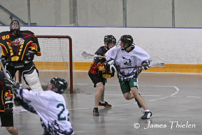 Calgary Sabrecats 1 vs Okotoks Ice May 07, 2008