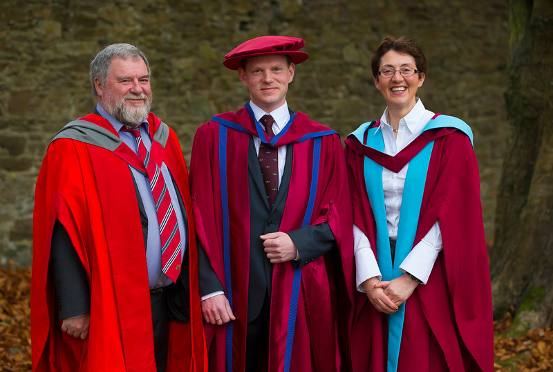 03/11/2016. Waterford Institute of Technology (WIT) Conferring Ceremonies November 2016.  Pictured is David Paisley who was conferred a PhD. Picture: Patrick Browne