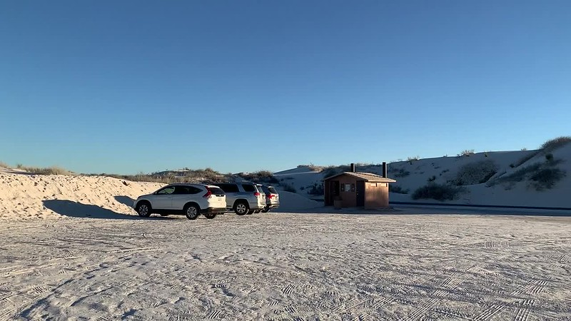 White Sands Parking Lot 180º
