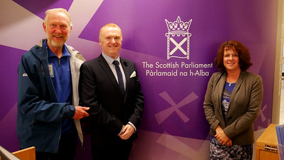 Meeting at Scottish Parliament