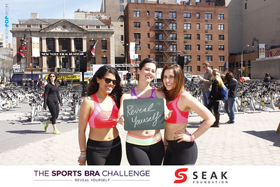 SEAK Sports Bra Challenge Union Sq