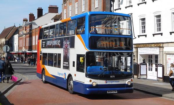 Transbus Trident - former Devon/West batch