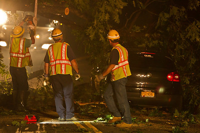 6-25-13 Mutual-Aid MVA, Tree And Wires Down, Garrison