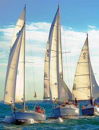 Sailboat Race, Grosse Pointe City, July 30, 2008