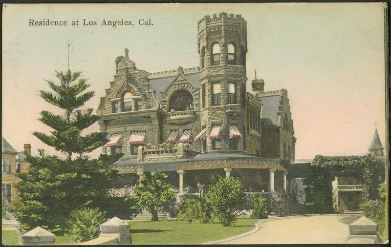 Residence at Los Angeles, California.