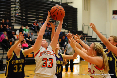Jonesville vs Concord JV Girls Basketball