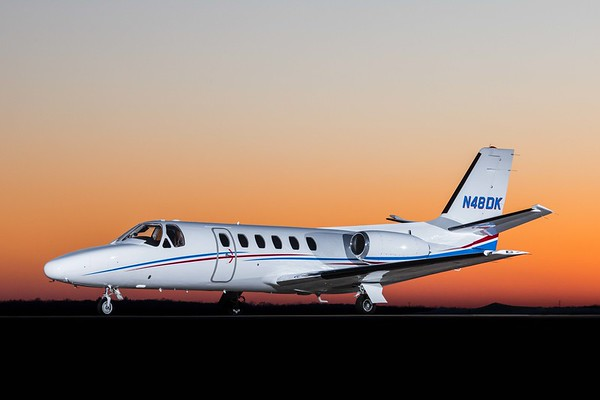 Citation II N48DK (Low Res)