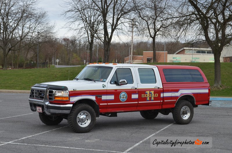 Lewistown (United Fire Co.) X-Squad 11: 1991 Ford F250